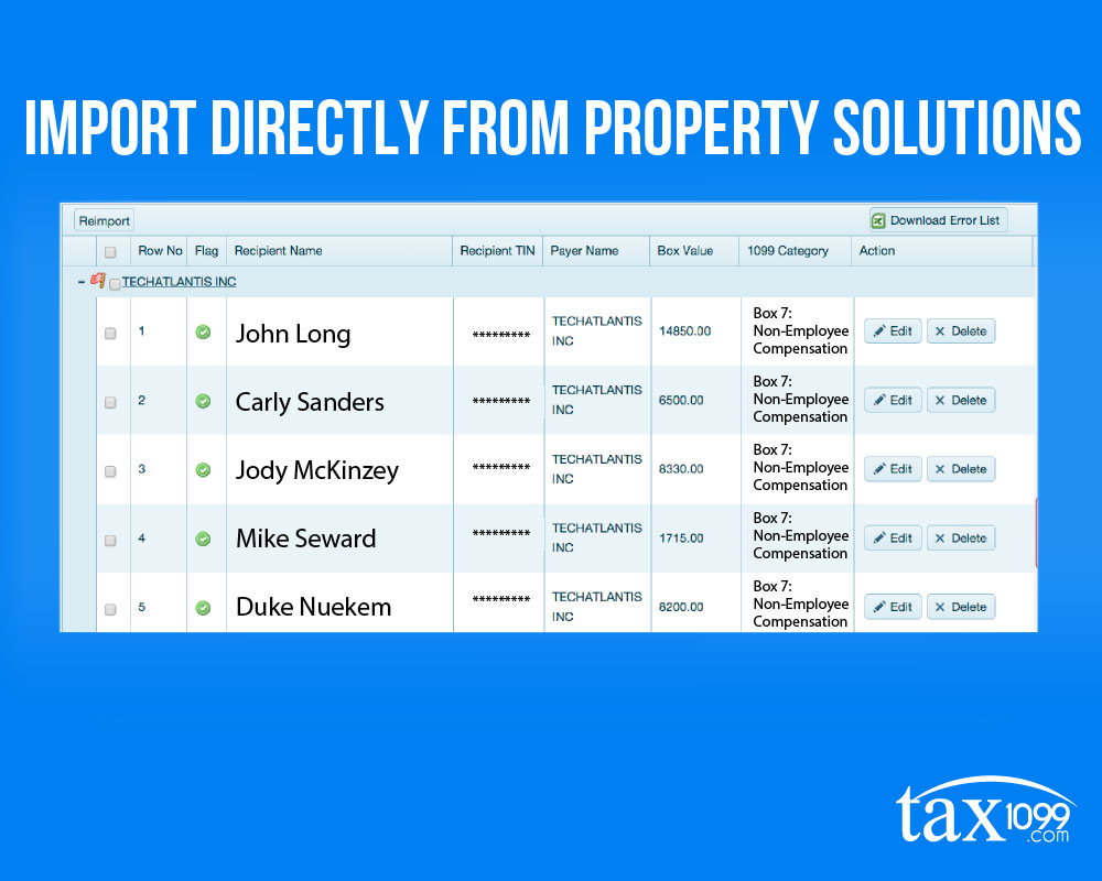 Import From Property Solutions